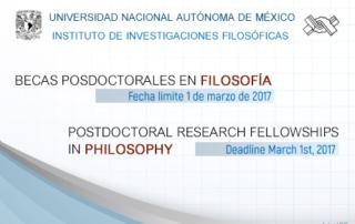 Becas postdoctorales UNAM