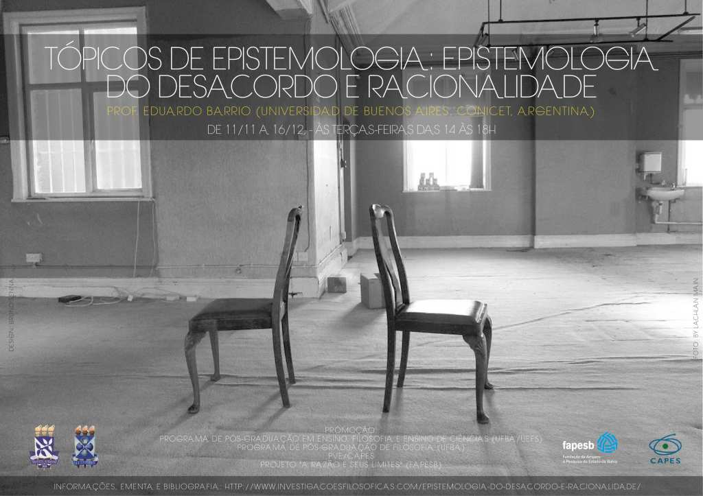 Curso - Epistemoogia do Desacordo