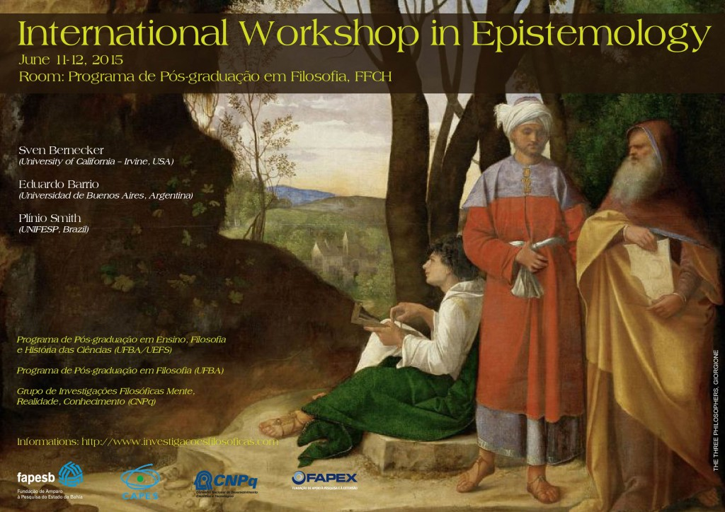 International Workshop in Epistemology