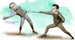 Wittgenstein e Karl Popper em um desacordo filosófico
