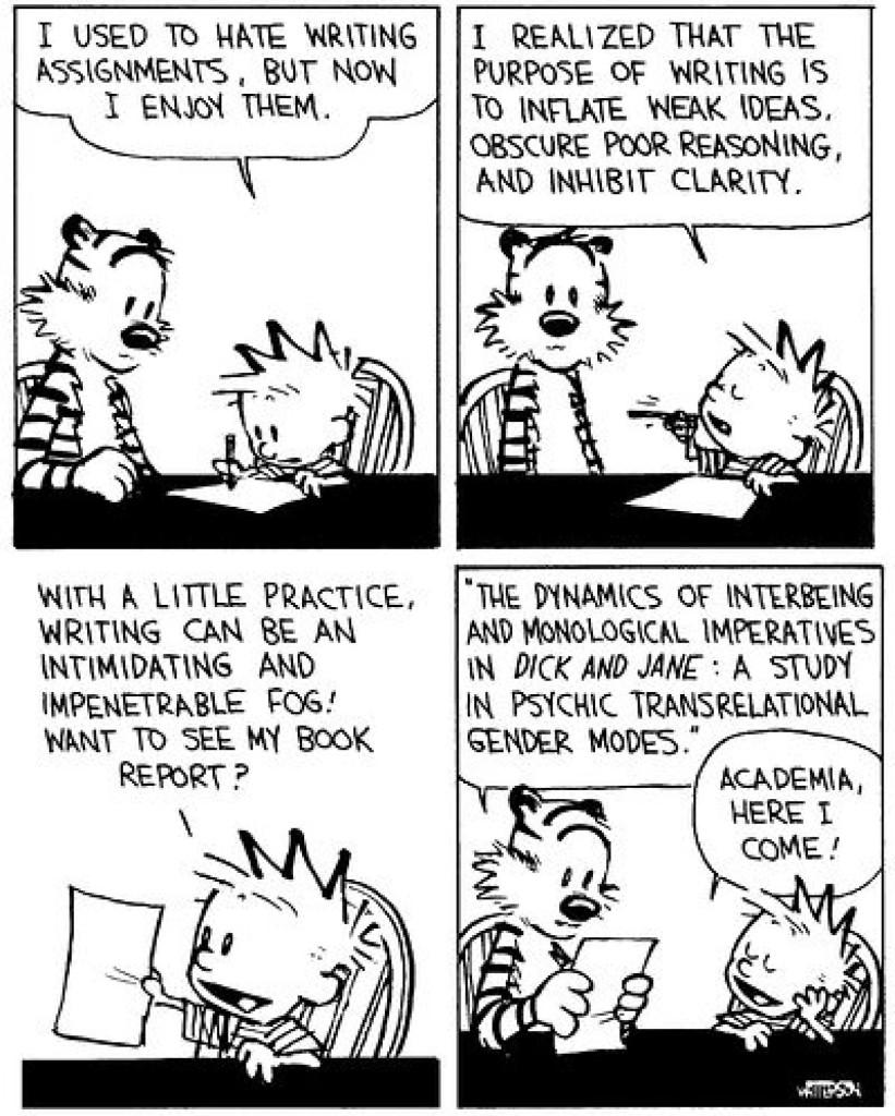 Clareza e a escrita acadêmica