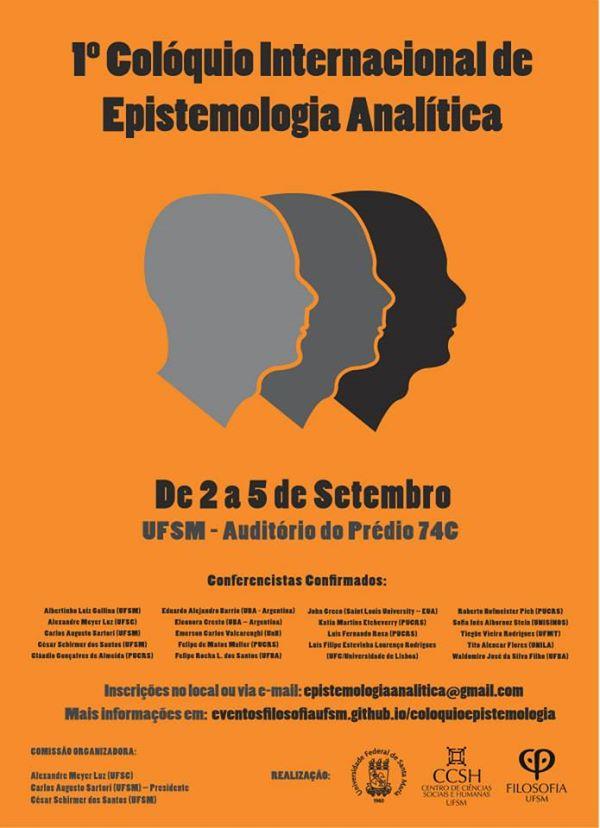 Colóquio Internacional de Epistemologia Analítica